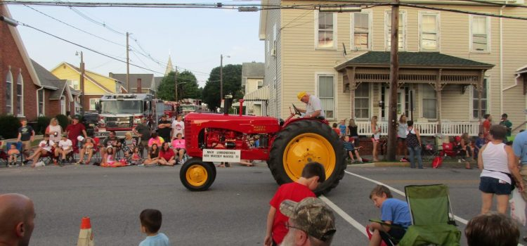 Morrison's Cove Agricultural Parade Train
