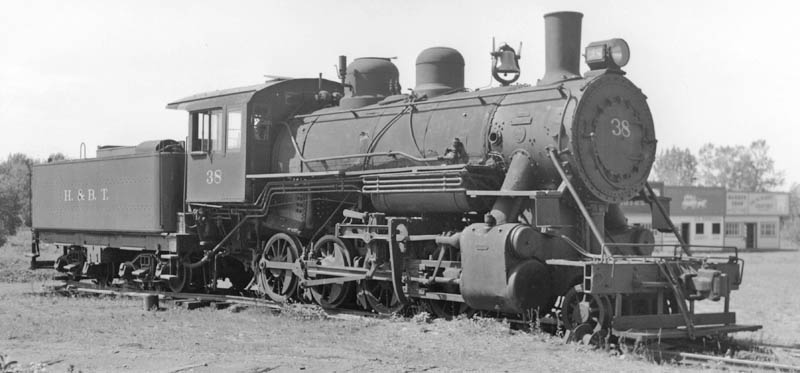 BALDWIN 2-8-0 Number 38 | The Everett Railroad