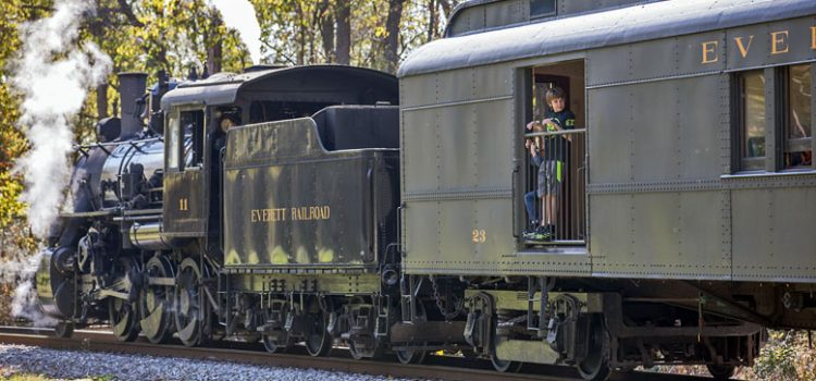 Celebrate your birthday on the Everett Railroad.