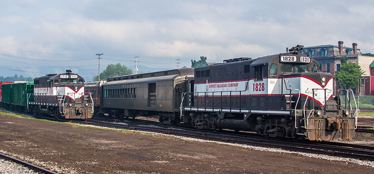 Weekday Diesel Specials on the Everett Railroad Company