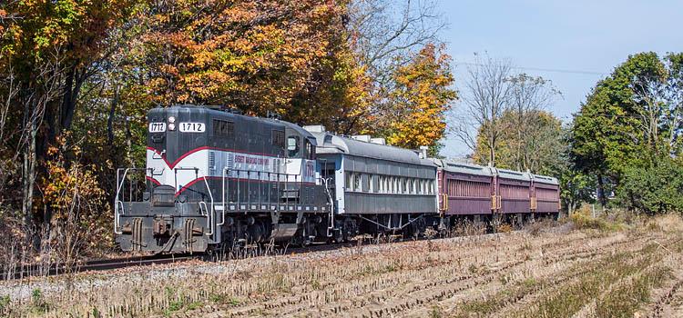 Everett Railroad Autumn Glory Ride